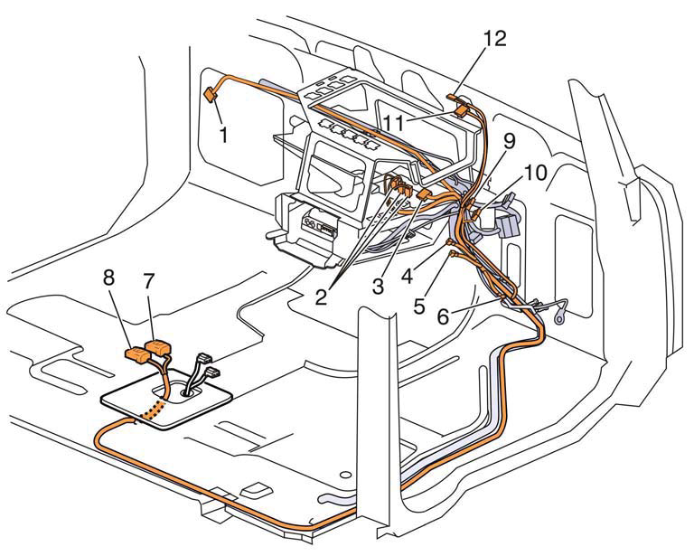 Body Builder Connectors and Lighting Interface | Volvo Trucks USA | Volvo 630 Wiring Diagram |  | Volvo Trucks