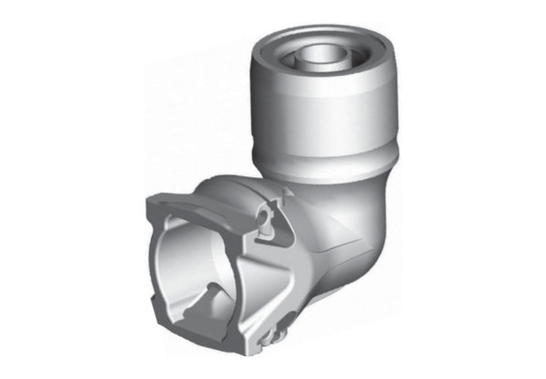 plastic fitting elbow