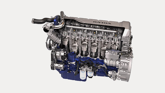 Volvo Trucks D11 engine -Variable