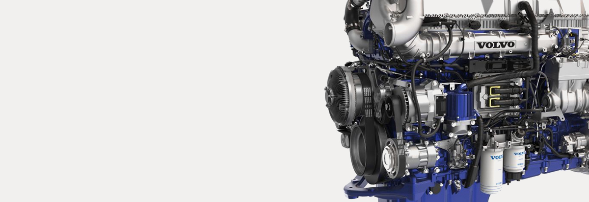 Volvo Trucks D13 engine -Hero image