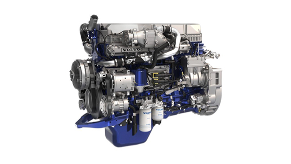 Volvo Trucks D11 engine