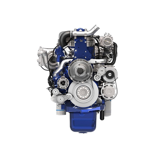 Volvo Trucks d13 engine front view for 360-view