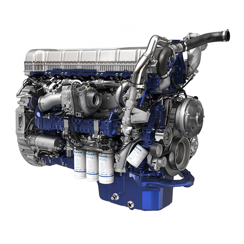 Volvo Trucks d13 engine for 360-view-psgr-side