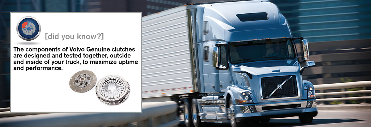 A clutch that's designed andtested for driveline performance | Volvo