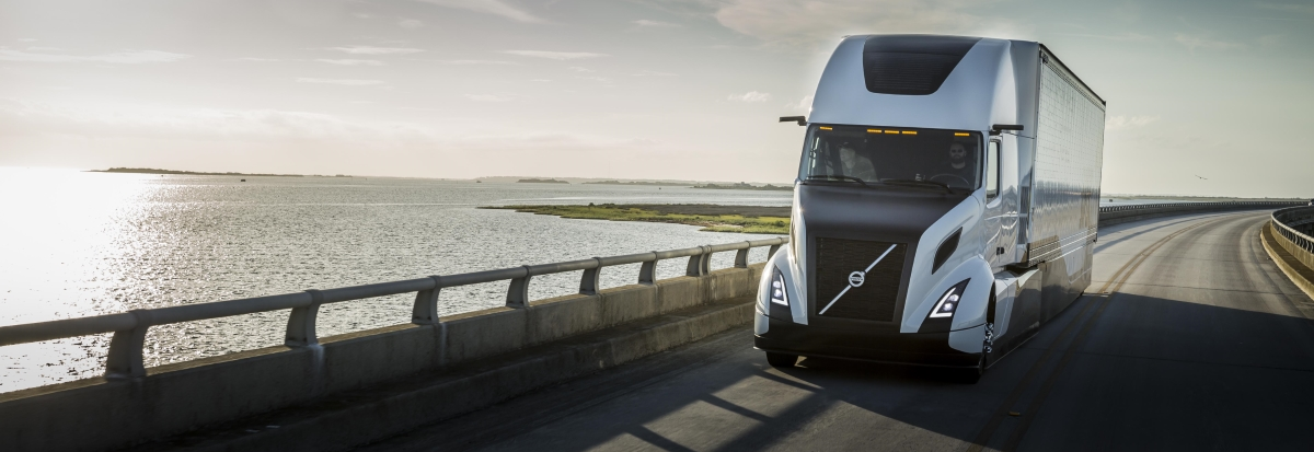 Volvo's SuperTruck concept vehicle