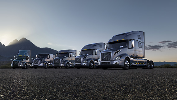 Volvo introduces the new VNL