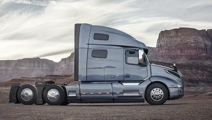 Aerodynamics for Volvo VNL