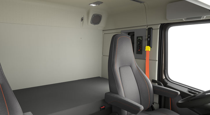 New Volvo VNR Semi Truck Interior Design