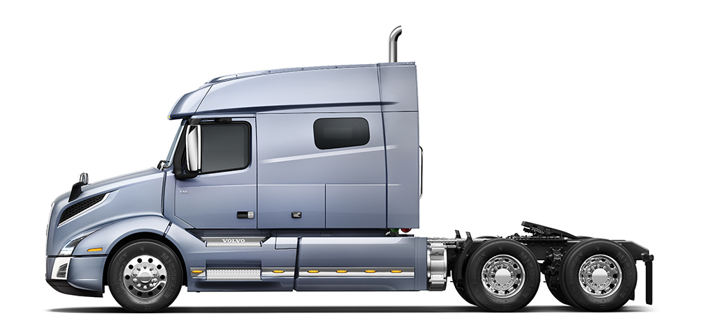 Volvo Trucks VNL 740 side view