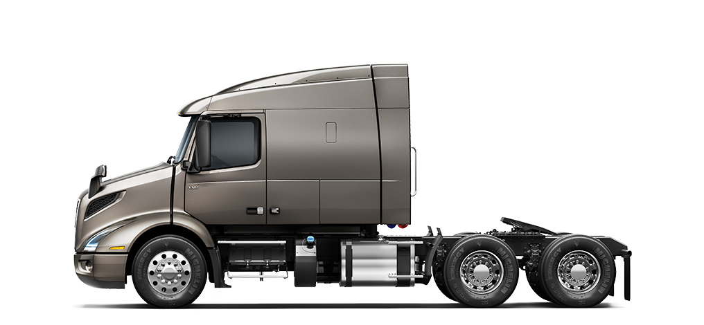 Volvo Trucks VNR 640 side view
