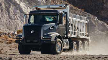 Volvo Truck VHD at a mining site
