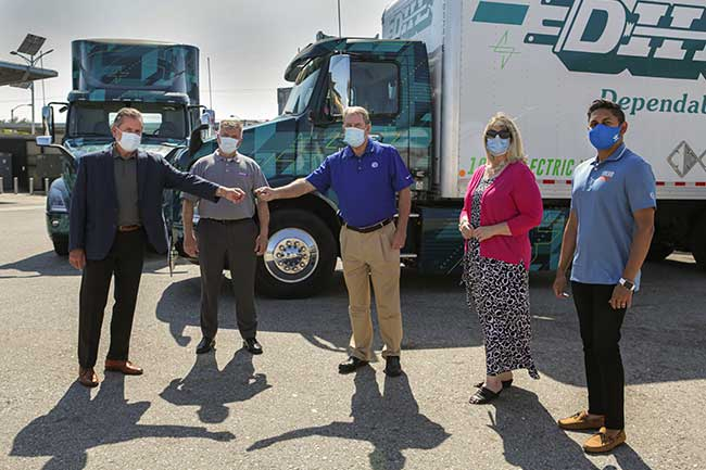 Dependable Highway Express Begins Piloting Volvo VNR Electric Heavy-Duty Trucks in its Southern California Fleet