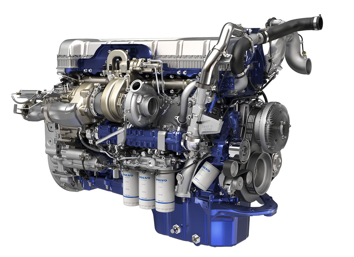 Volvo D13 Turbo Compound Engine Powers New Volvo Vnl Series Volvo