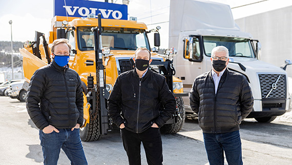 Volvo Trucks Canada Dealer of the Year Hickman Truck Centre