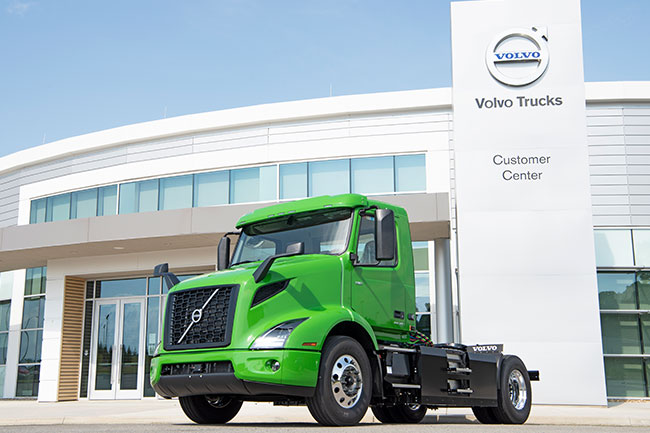 Volvo Trucks Manhattan Beer VNR Electric First Commercial Purchase