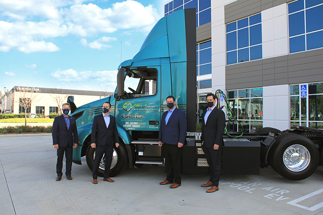 Volvo Trucks QCD VNR Electric Handover