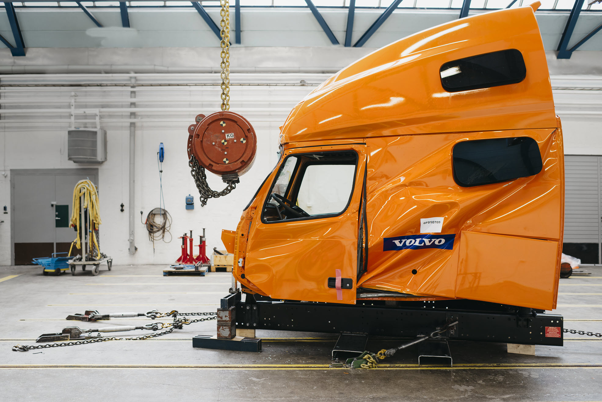Volvo Tucks Safety test