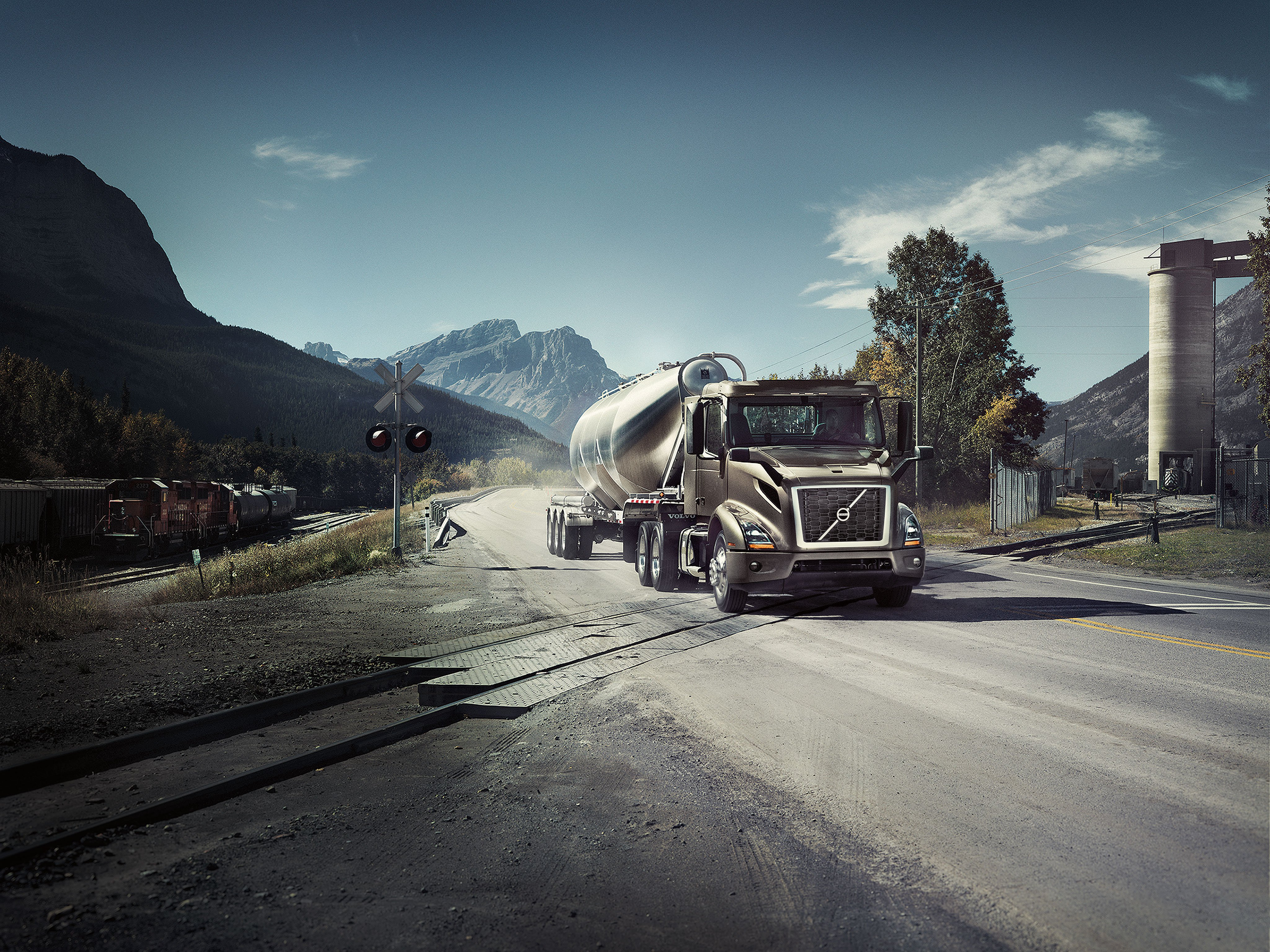 The new Volvo VNR - Sign up to get updates on exclusive updates about the new Volvo VNR.