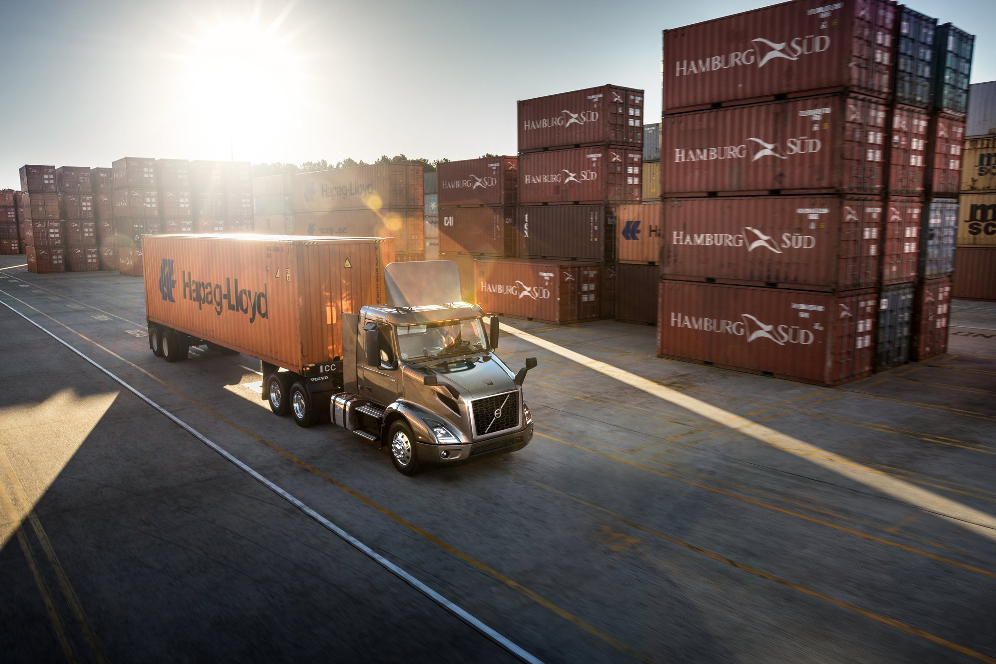 Volvo New Trucks On Lot Images